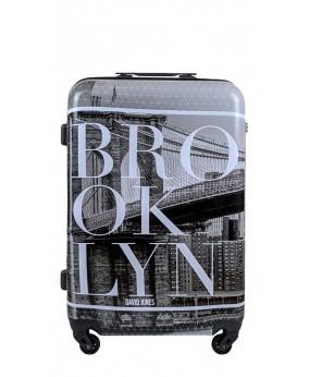 WALIZKA ŚREDNIA DAVID JONES NEW YORK BROOKLYN
